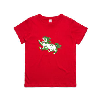 Snowlion Children's Tshirt Thumbnail