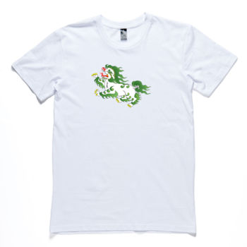 Snowlion Men's Crew Neck Tshirt Thumbnail